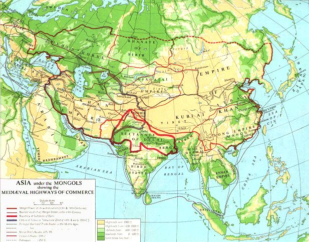 an overview of the mongolian empire Kublai khan the mongol empire the mongols were nomadic and lived in central asia they lived in the harsh climate of the eurasian steppe mongols centered their life on herding animals such as horses.